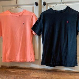 2 Polo Tee Shirts !
